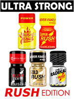Pack de poppers Ultra Strong 05 Rush Edition
