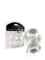 Plug Anal - Tunnel Transparent Medium