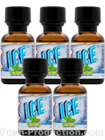 Poppers Ice Mint 24 ml - pack de 5