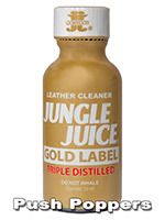 Poppers Jungle Juice Gold Label Triple Distillation 30mL