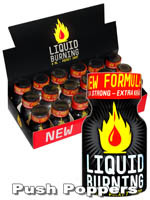 Poppers Liquid Burning 9 ml - pack de 18