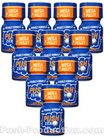 Poppers Push Zero 9 ml - pack de 10