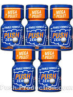 Poppers Push Zero 9 ml - pack de 5