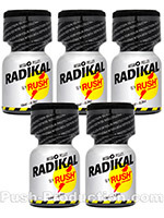 Poppers Radikal Rush 10 ml - pack de 5