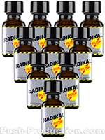 Poppers Radikal Rush 10 x 30 ml