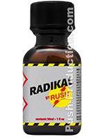 Poppers Radikal Rush 30 ml en verre
