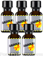 Poppers Radikal Rush 5 x 30 ml