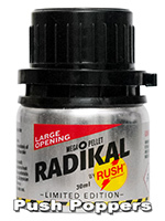 Poppers Radikal Rush big alu bottle