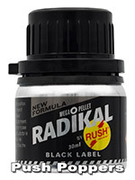 Poppers Radikal Rush Black Label 30 ml