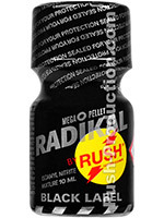Poppers Radikal Rush Black Label Amyle 10 ml
