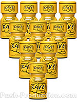 Poppers Rave 9 ml - Pack de 10