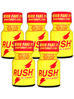 Poppers Rush Original 9 ml - pack de 5