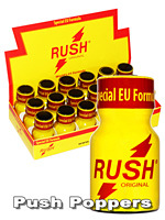 Poppers Rush Special Edition 10 ml - pack de 18