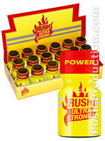 Poppers Rush Ultra Strong 10 ml - pack de 18
