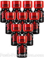 Poppers Rush Ultra Strong Black Label 10 ml - pack de 10