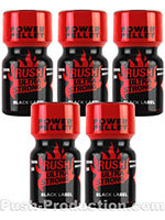 Poppers Rush Ultra Strong Black Label 10 ml - pack de 5