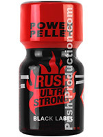 Poppers Rush Ultra Strong Black Label Amyle 10 ml