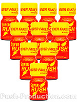 Poppers Super Rush 10 ml - pack de 10