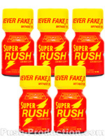 Poppers Super Rush 10 ml - pack de 5