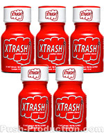 Poppers Xtrash 10 ml - pack de 5