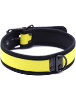 Puppy Dog Collier en Neoprene - Jaune