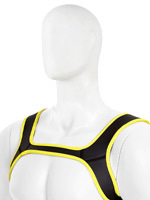 Puppy Dog Harnais en Neoprene - Jaune