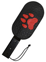 Puppy Dog - Tapette Genuine Leather Red Paw