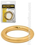 Push Gold Edition - Cockring High Polished Power 10mm