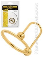 Push Gold Edition - Cockring Plug Sperm Stopper