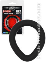 Push Monster - Jizz Ejector Silicone Cockring