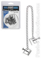Push Xtreme Fetish - Press Nipple Clamps Chain