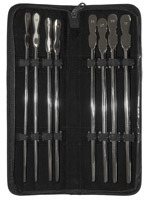 Set de 8 dilatateurs longs en inox