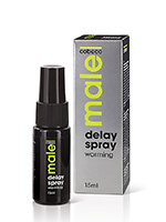 Spray retardant chauffant - Male Delay Warming