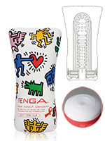 Vaginette Tenga - Soft Tube Cup Keith Haring